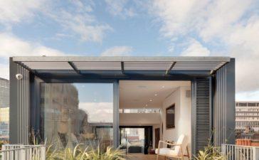 Narrow House terrace