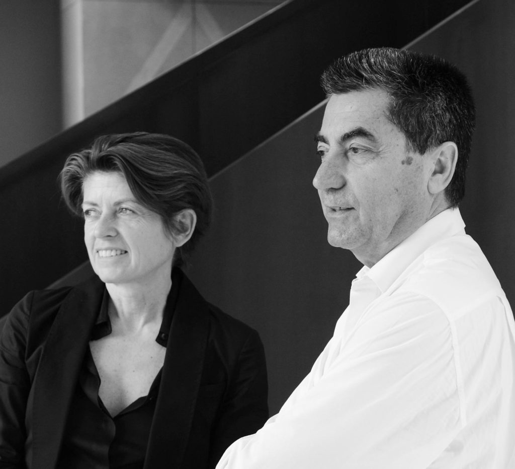 Patricia Viel and Antonio Citterio