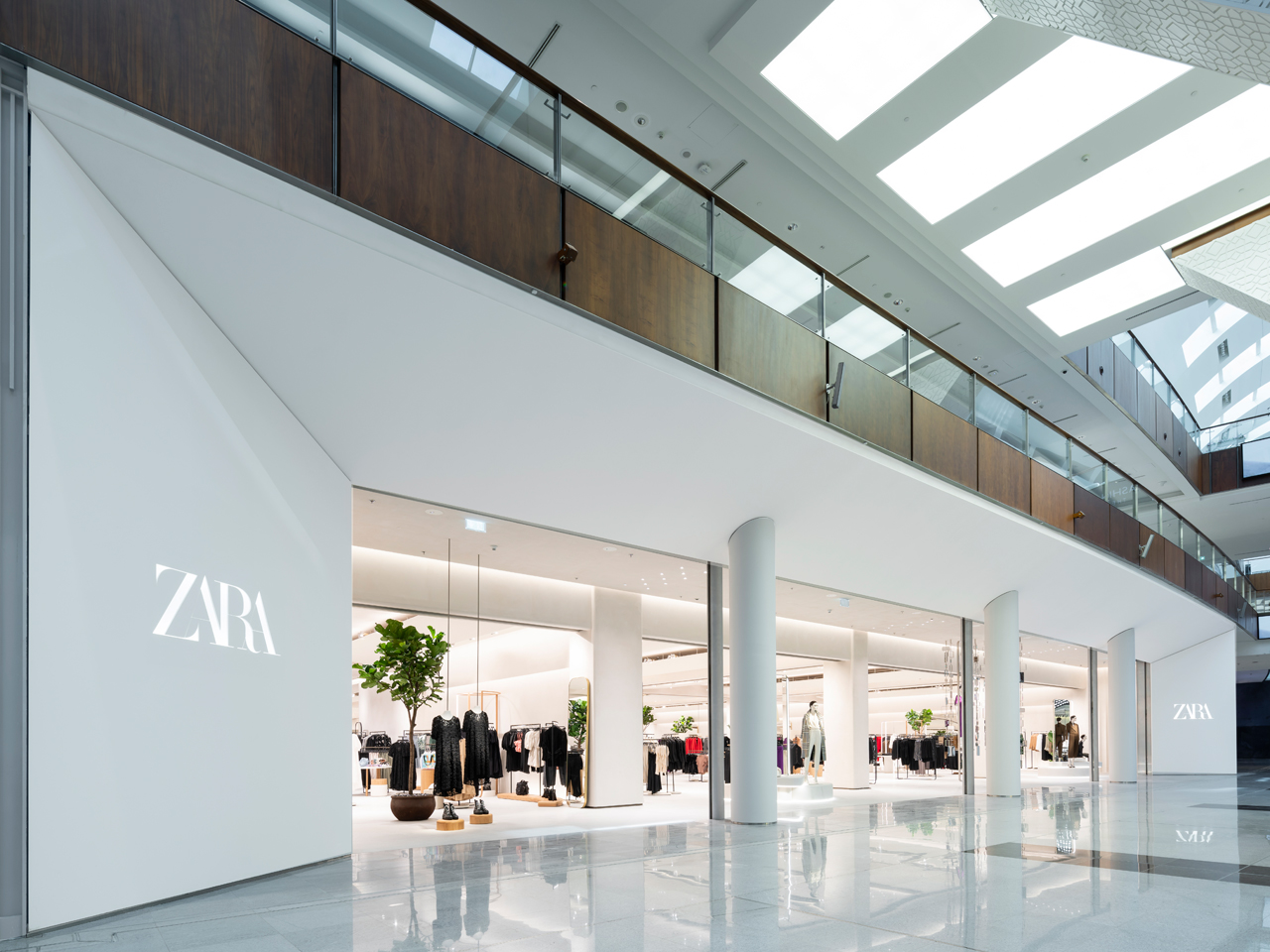 Zara Raises The Bar For Tech Savvy Eco Friendly Shopping Identity