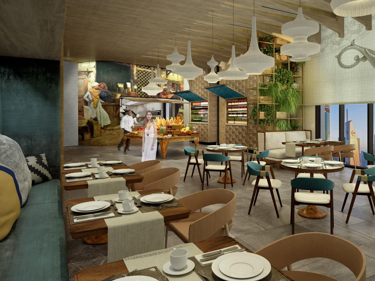 Hotel Indigo Dubai Downtown restaurant