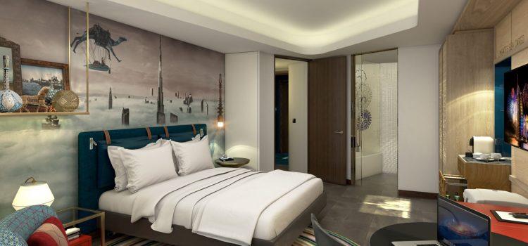Hotel Indigo Dubai Downtown bedroom