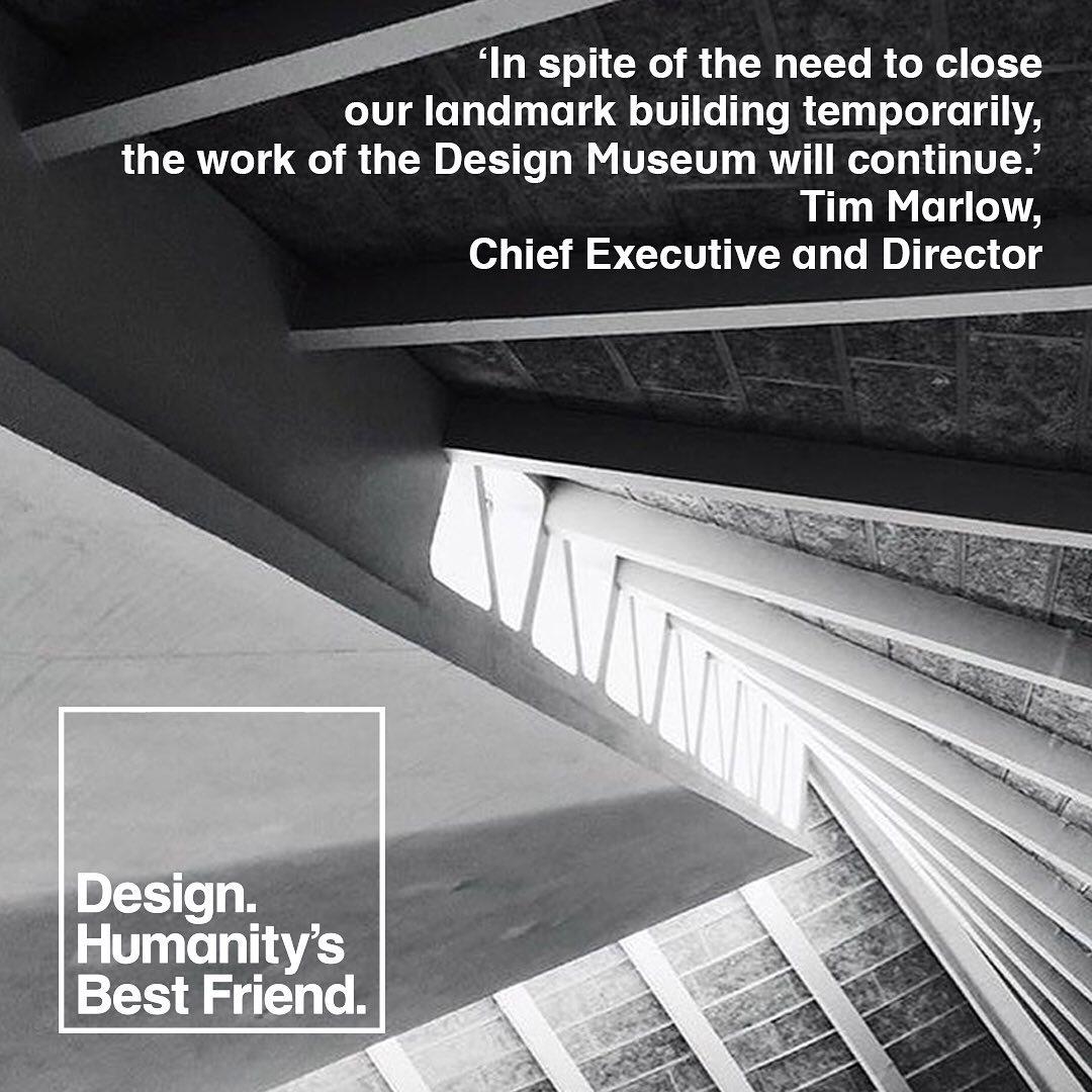 The design museum temporary closure