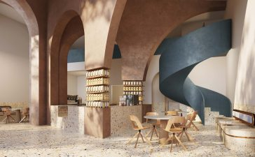 Azaz Architects coffee shop