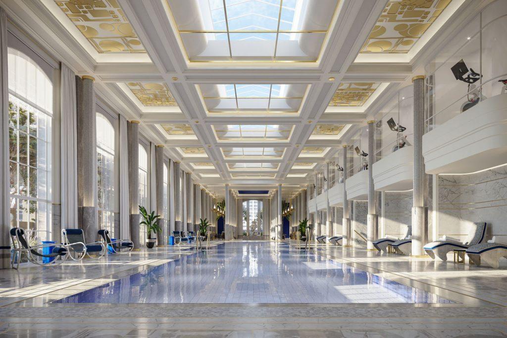 Waldorf Astoria New York pool