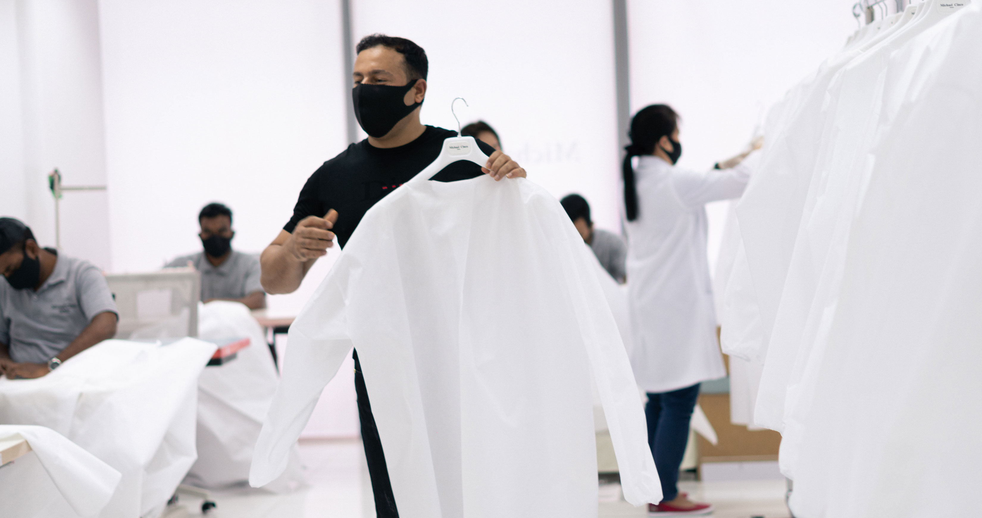 Dubai Fashion Designers Create Gowns And Masks For Frontline Medical Staff