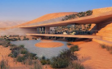 X Architects Desert Resort in Saudi Arabia