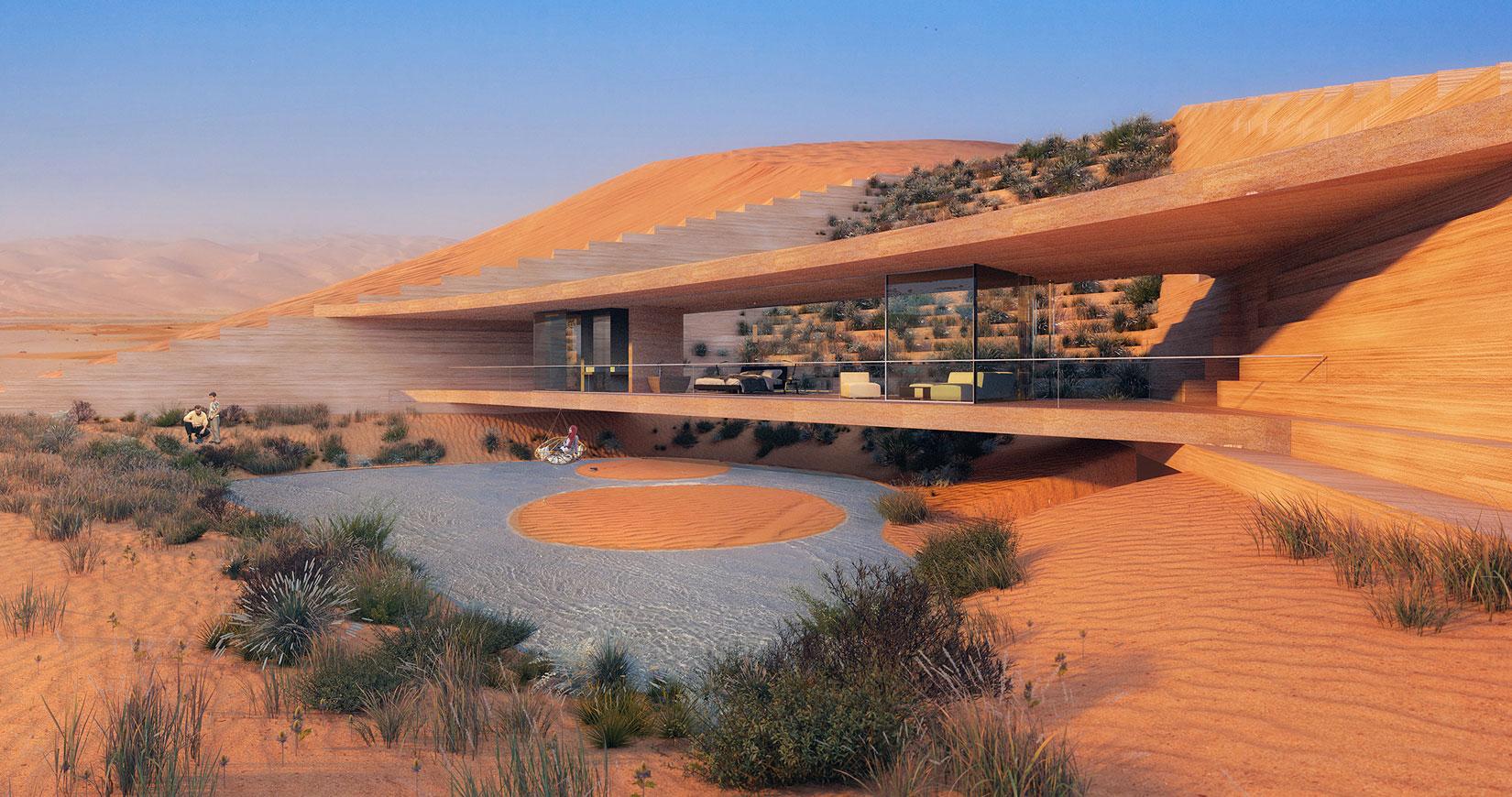 X Architects Desert Resort in Saudi Arabia