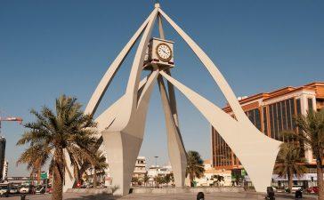 Dubai Clock Tower design