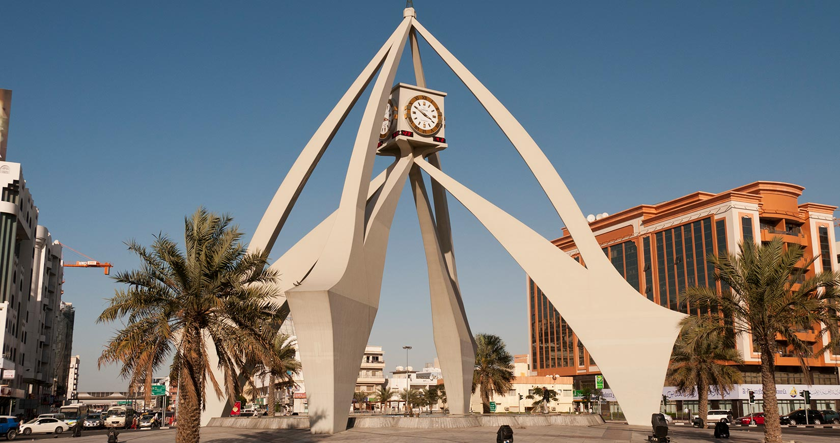 Dubai Clock Tower design