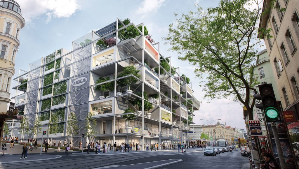 IKEA's greenest store in Vienna, Austria _ sustainable projects