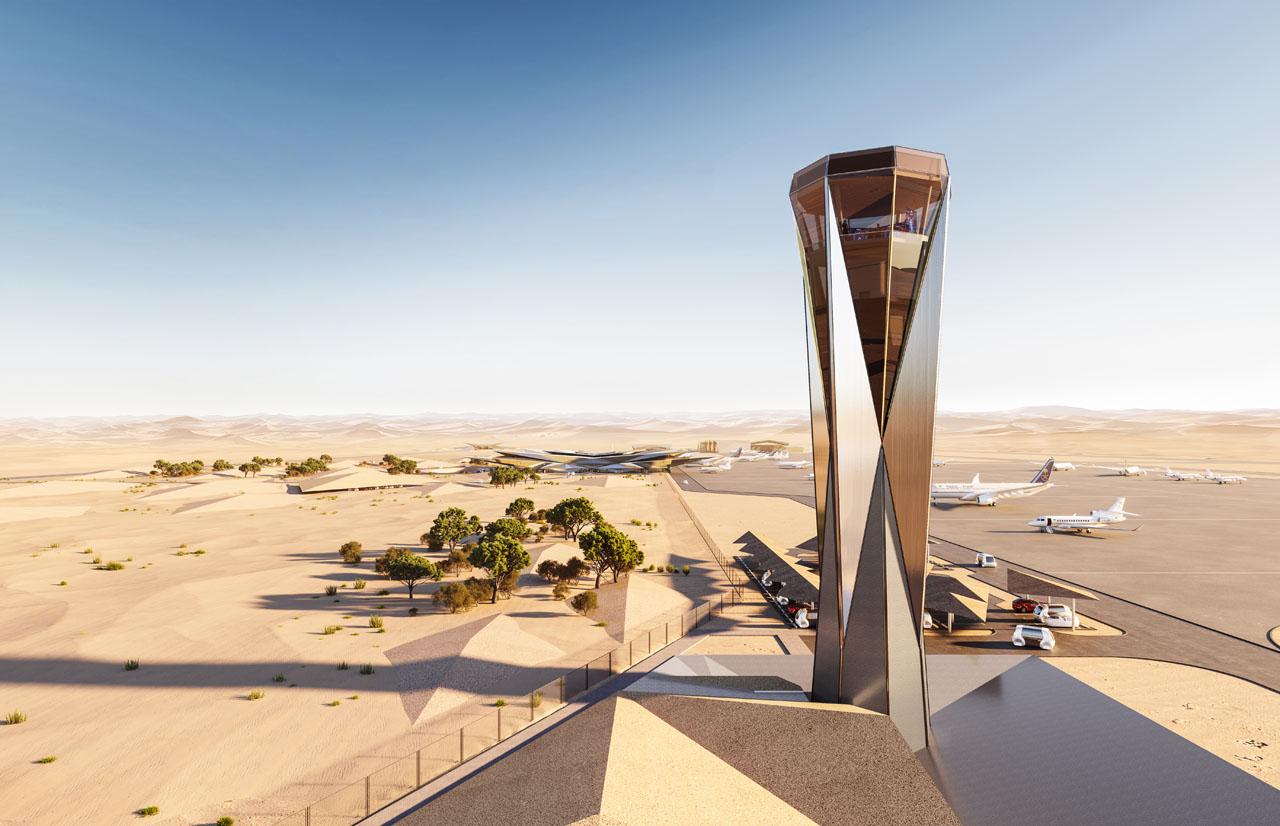 Foster + Partners AMAALA airport