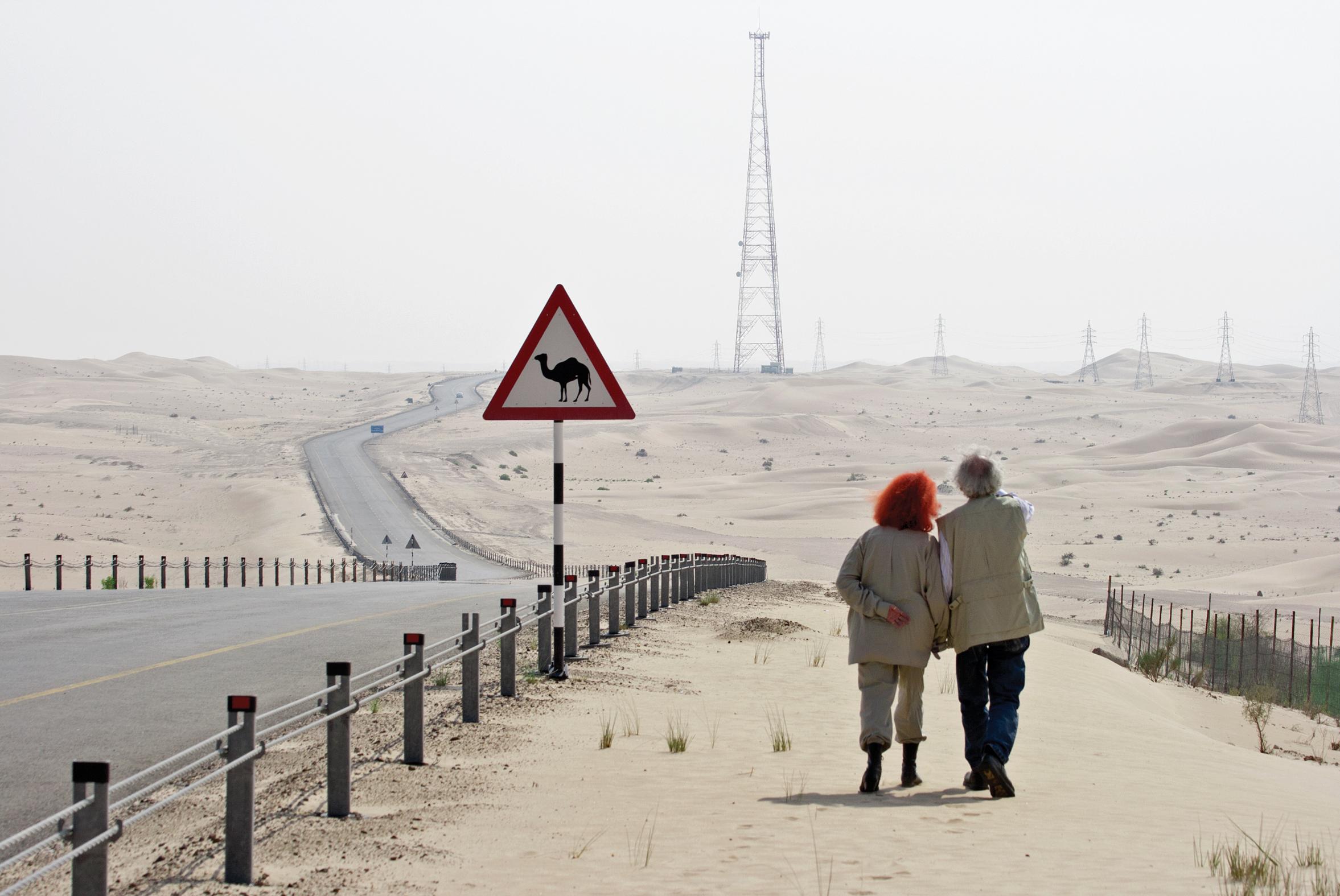 Christo and Jean Claude Abu Dhabi