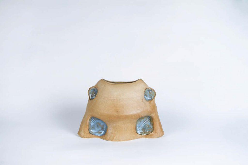 Ceramic blue by Faissal El Malak